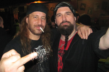 Martin Lukби a Phil Fasciana (MALEVOLENT CREATION)