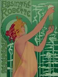 Absinth - historie zelené múzy dekadentù