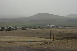 Krajina podél turecké hranice