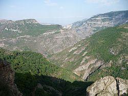 Krajina poblíž Náhorního Karabachu