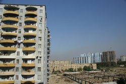 Baku - nové bytové domy