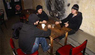 Kawiarnia Naukowa - únava
