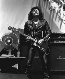 BLACK SABBATH - Tony Iommi