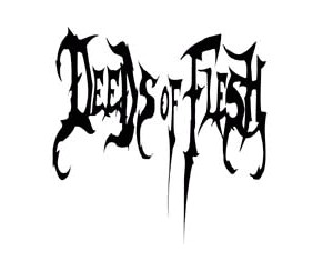 DEEDS OF FLESH (logo)