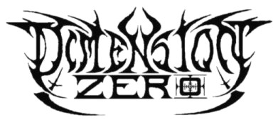 DIMENSION ZERO (logo)