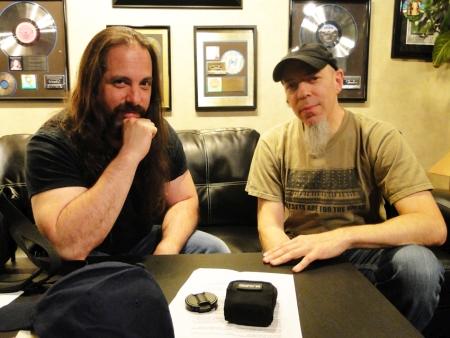 John Petrucci a Jordan Rudess, zdroj musicradar.com