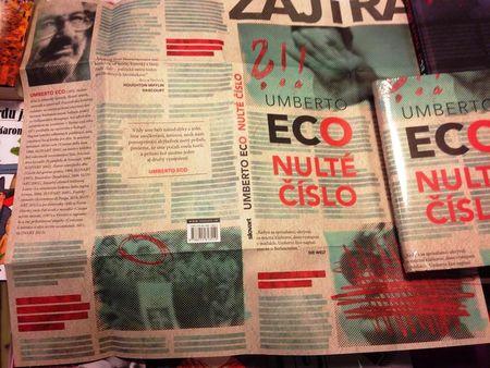 """Umberto Eco """"Nulté èíslo"""""""