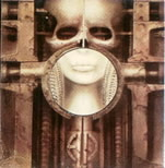 "H. R. Giger - obal alba EMERSON, LAKE AND PALMER ""Brain Salad Surgery"""