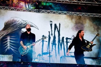 IN FLAMES