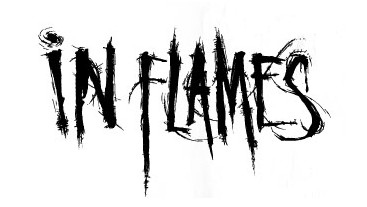 IN FLAMES (logo)
