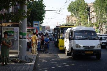 Jerevan - doprava v centru