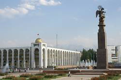 Biškek - námìstí Ala Too