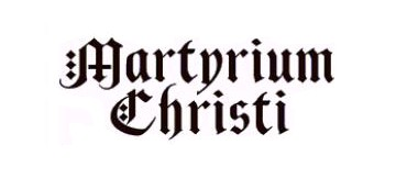MARTYRIUM CHRISTI (logo)
