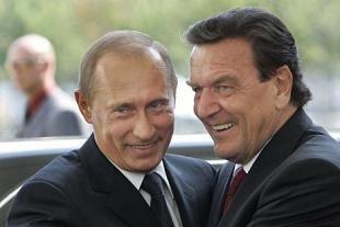Vladimír Putin a Gerhard Schröder - nebezpeèné pøátelství