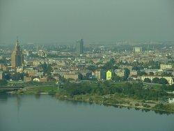 Riga - pohled z televizní vìže