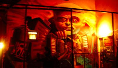 Grafitti v egerském Egrix Clubu