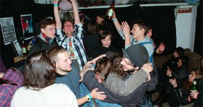 Rivne garážová párty
