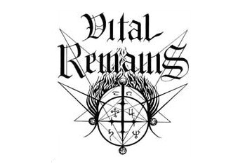 VITAL REMAINS (logo)