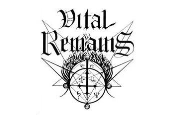 VITAL REMAINS (logo)