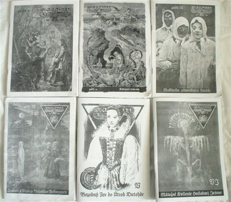 NECROSPHERE Nr. 1 – 6