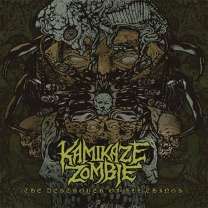 KAMIKAZE ZOMBIE – The Destroyer Of All Things