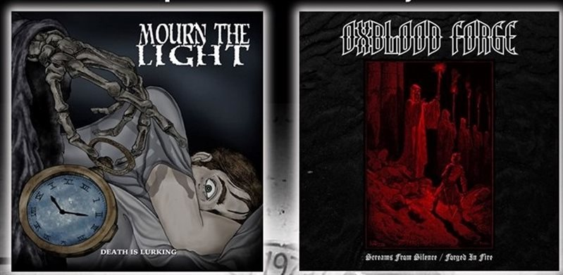 MOURN THE LIGHT/OXBLOOD FORGE – Split
