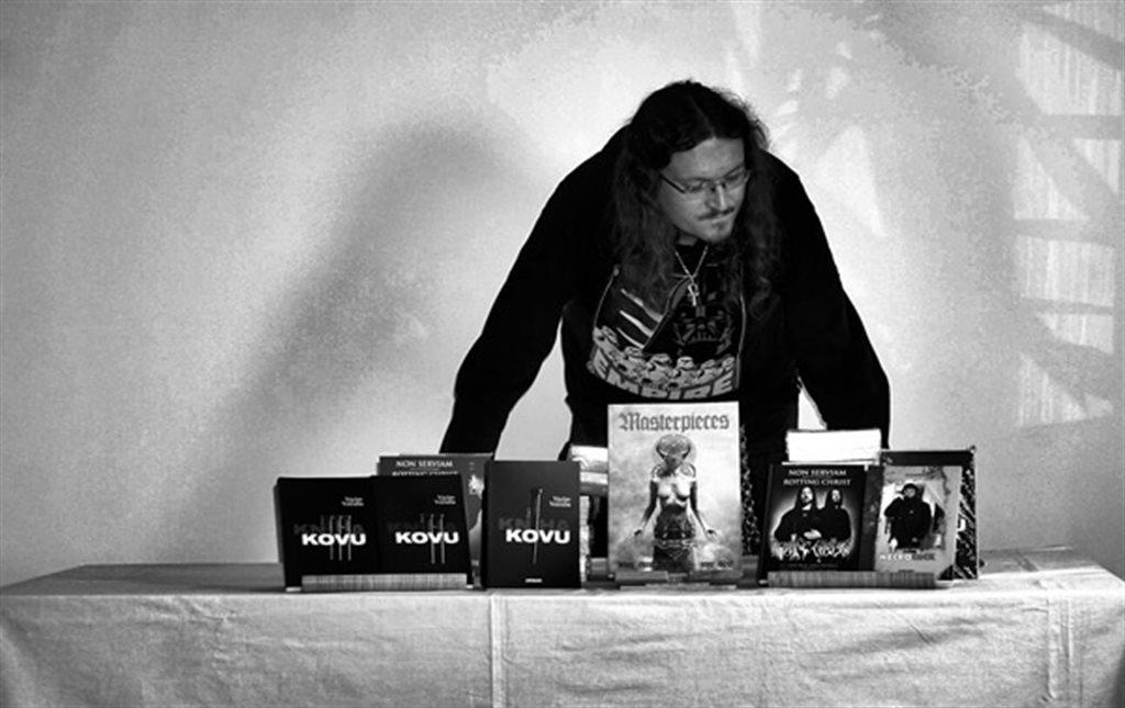 Ondra Šmejkal (vydavatelství Metalgate, MetalGate Czech Death Fest OpenAir)