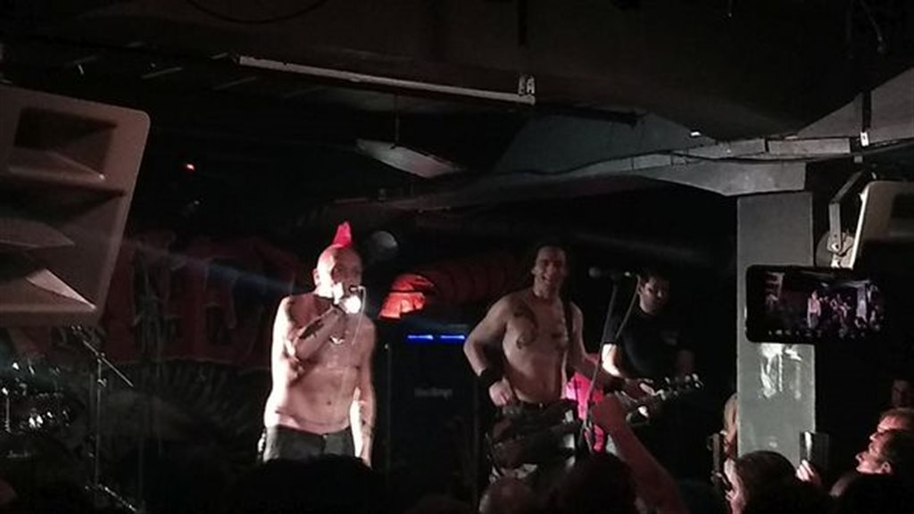 THE EXPLOITED, MAID OF ACE - Praha, Klub Storm - 29. øíjna 2019