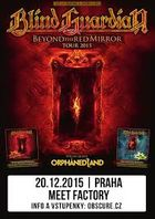 BLIND GUARDIAN, ORPHANED LAND - Praha, MeetFactory, 20. prosince 2015