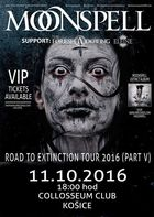 MOONSPELL, THE FORESHADOWING, ELEINE - 11. 10. 2016, Košice, Collosseum