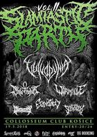 CRYSTALEPSY, SCHIZOGEN, CRANIOTOMY, BLADE OF HORUS, WORMHOLE, VULVODYNIA - Slamtastic Party II