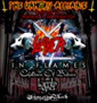 THE UNHOLY ALLIANCE TOUR 2006 - SLAYER, IN FLAMES, CHILDREN OF BODOM, LAMB OF GOD, THINE EYES BLEED - Mnichov, 27. øíjna  2006