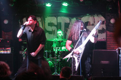 BAPTIZE THE SLAVE - DECAPITATED, WASTAGE, RESONANT OF MIND, CHEMICAL CANCER - Košice, Collosseum club -  24. apríla 2015