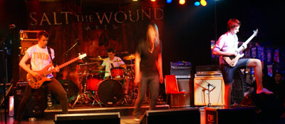 WAR FROM A HARLOTS MOUTH, ARSONISTS GET ALL THE GIRLS, SALT THE WOUND, PLEA FOR PURGING, APOSTATE - Praha, Exit Chmelnice - 8. února 2010