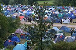 Brutal Asault 2007 - pohled na kemp