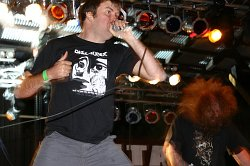 NAPALM DEATH, BORN FROM PAIN, MENDEED - Praha, Matrix - 29. øíjna 2006