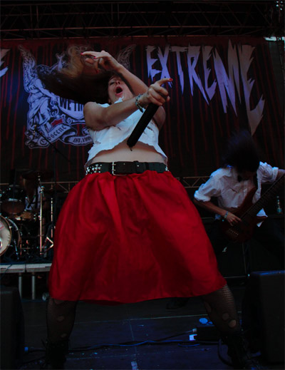 OBSCENE EXTREME 2014 - Miss Stage