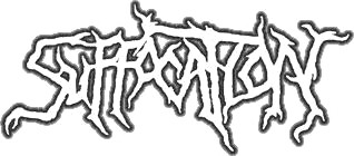 SUFFOCATION (logo)
